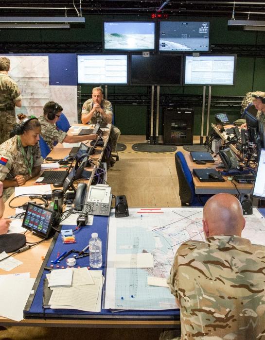 Former OC Air Battlespace Training Centre