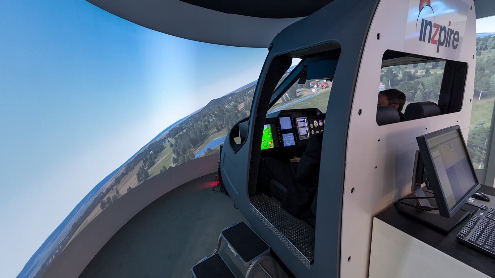 Helicopter Simulators Inzpire
